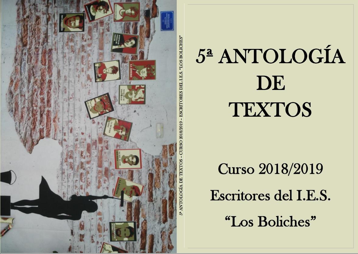 """5ª Antología del IES """" Los Boliches"""""""