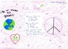 Poemas para el día de la Paz realizados en el IES Los Boliches